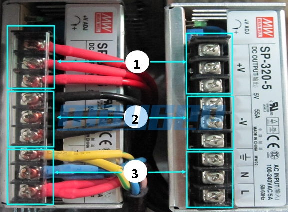 cable connection to module